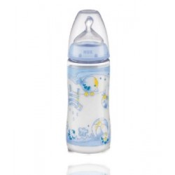 Nuk First Choice Biberon pp Latex 300 cc Blue T-1