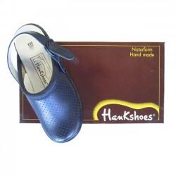 Hankshoes Zuecos Relax 36 Azul