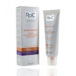 Roc soleil Protec F50+ Fluido unificante Antimanchas 50Ml