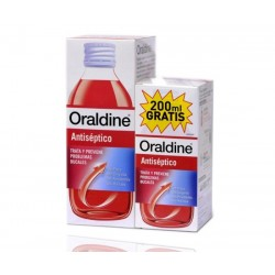 Oraldine Colutorio Antiseptico 400+200 ml