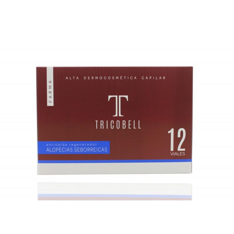 TRICOBELL ALOPECIAS SEBORREICAS 12 uds 12 amp.10ml