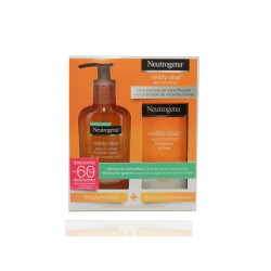 Neutrogena Pack Visibly Clear Hidratante 50ML + Limpiador 200ML