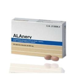 Alanerv 820 mg 20 Capsulas Blandas