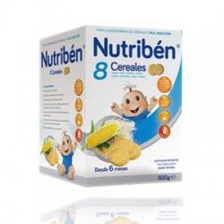 Nutriben 8 Cereales Galletas Maria 600 gr