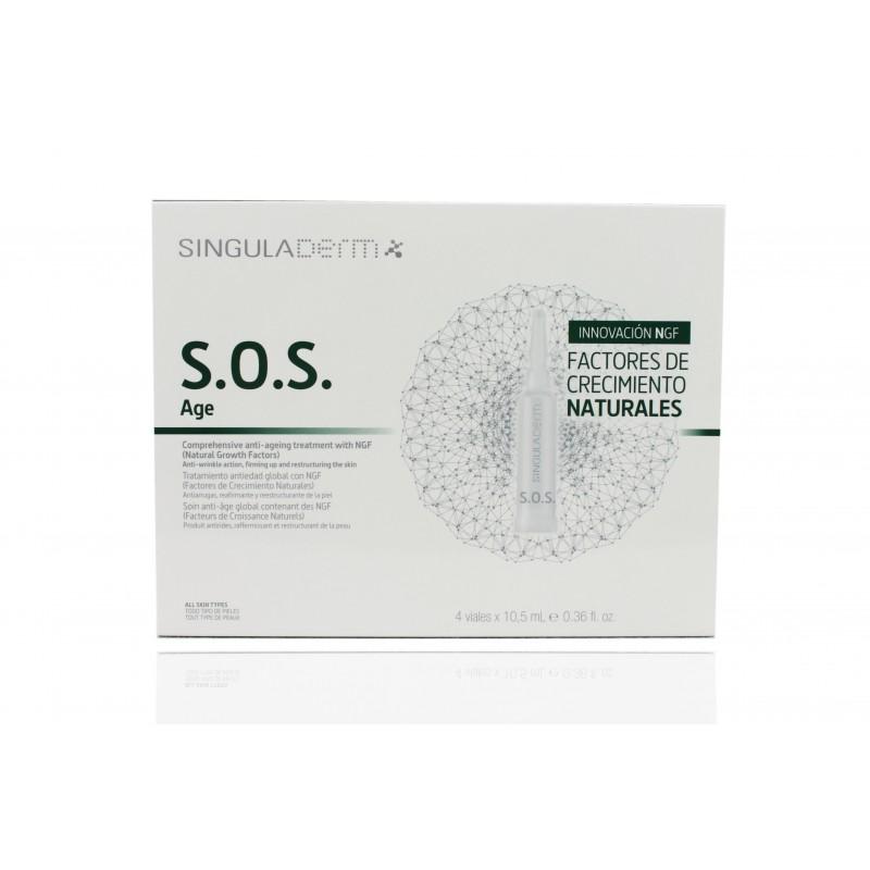 Singuladerm S.O.S. Age 4 viales 10.5 ml