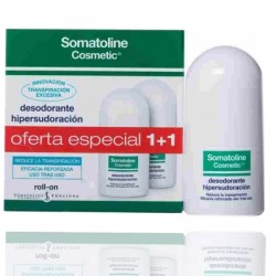 Somatoline Desodorante Hipersudoracion Roll On Duplo 40+40ml