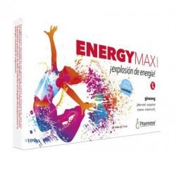 Homeosor Energy Max 20 Viales 15 ml