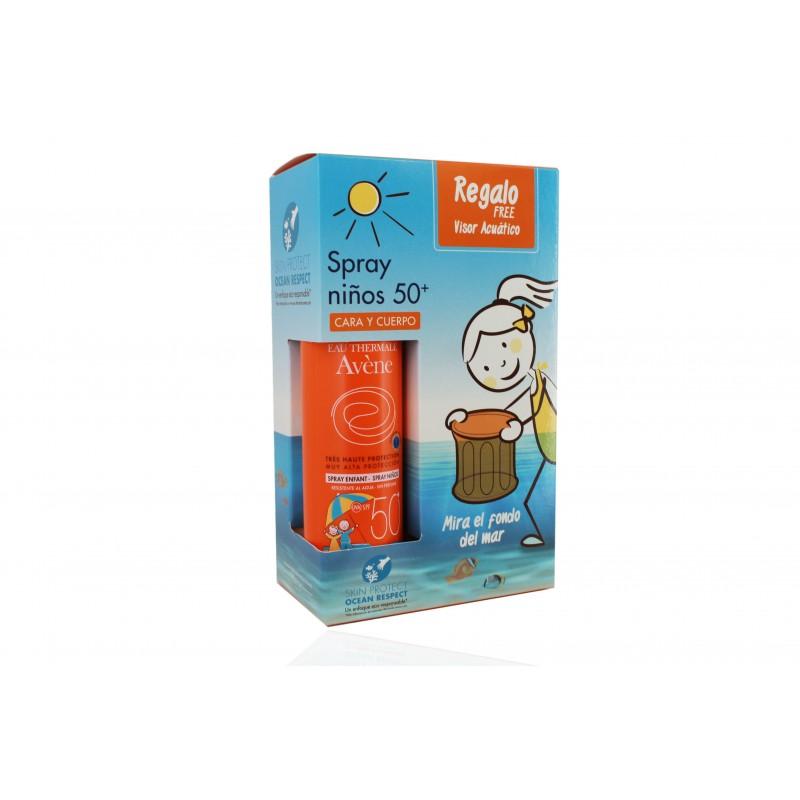 Avene spray solar infantil spf 50+ 200 ml + gratis visor acuático