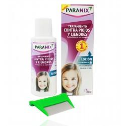 Paranix Tratamiento Piojos y Liendres Locion 100 ml + Lendrera