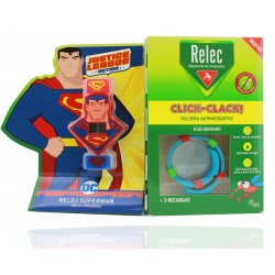 Relec Pulsera Antimosquitos + Regalo Reloj Superman