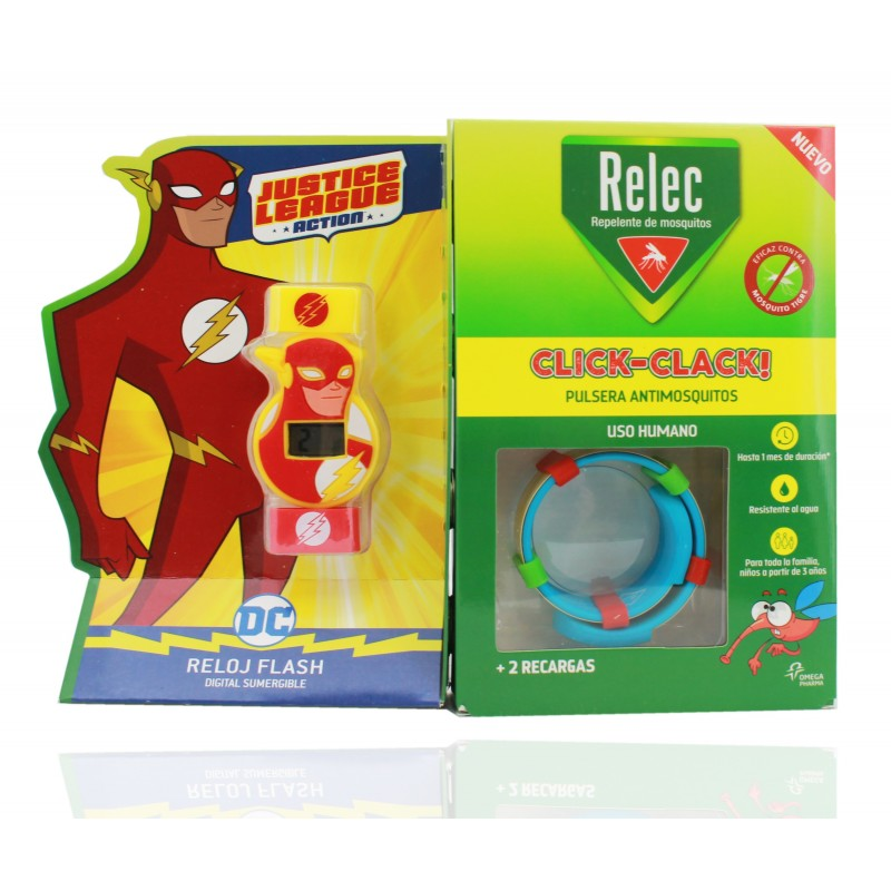 002f015c4b02 Relec Pulsera Antimosquitos + Regalo Reloj Flash