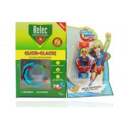 Relec Pulsera Antimosquitos + Regalo Reloj Supergirl