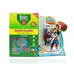 Relec Pulsera Antimosquitos + Regalo Reloj Harley Quinn