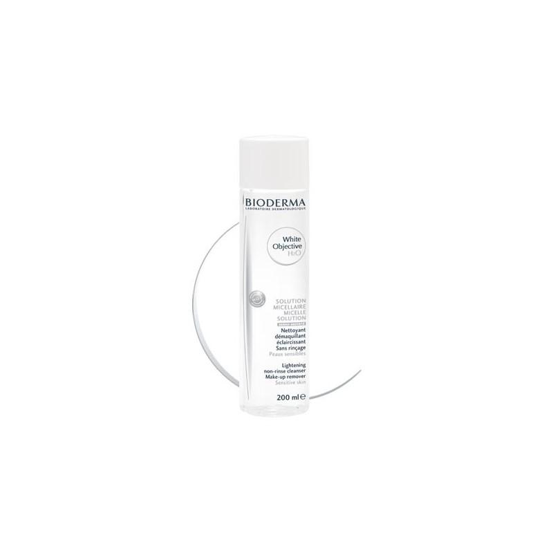 BIODERMA White Objective H2O  Solución micelar específica hiperpigmentación Frasco 200 ml