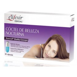 Elifexir Esenciall Coctel Belleza Nocturna 30 Capsulas
