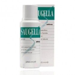 Saugella Attiva PH 3.5 Jabon 250 ml