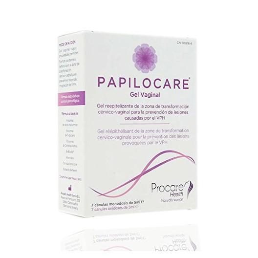 Papilocare Gel Vaginal 7 Canulas 5 ml