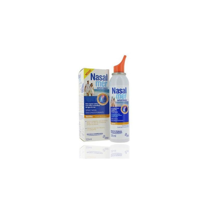 Nasalmer Solucion Nasal Hipertonico 2.2% Spray 125 ml