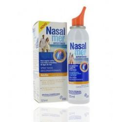 Nasalmer Solucion Nasal Hipertonico 1.5% Suave Spray 125 ml
