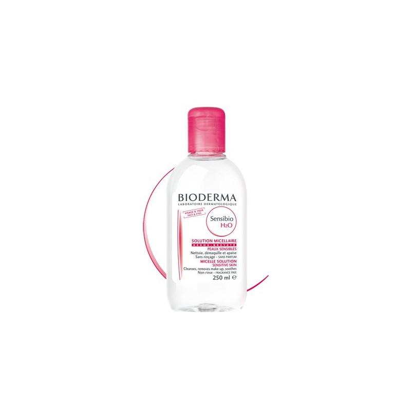 BIODERMA Sensibio H2O  Solución micelar específica piel sensible Frasco 250 ml
