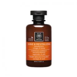 Apivita Champú Brillo y Vitalidad Naranja y Miel 250 ml