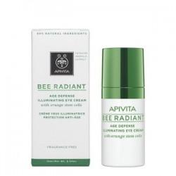 Apivita Bee Radiant Crema Iluminadora Contorno Ojos 15 ml