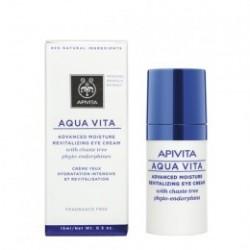 Apivita Aqua Vita Crema Hidratante - Contorno Ojos 15 ml