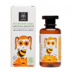 Apivita Bio Eco Baby Champú y Gel de Baño 200 ml