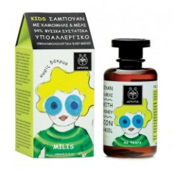 Apivita Kids Champú Niños Camomila & Miel 250 ml