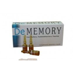De Memory 20 Ampollas Bebibles 5 ml