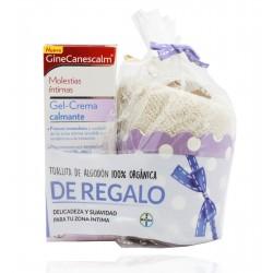 GineCanescalm Gel Crema Calmante 15 g + Regalo Toallita