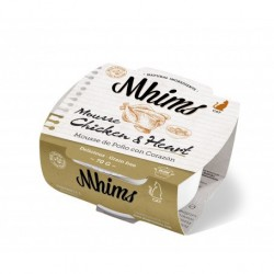 Mhims Mousse para Gato - Pollo con Corazon 70 g