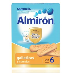 Almiron Advanced Galletas 6 Cereales 180 g