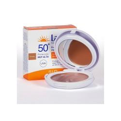 Ladival Maquillaje Compacto Fotoprotector SPF50 Color Dorado 10 g