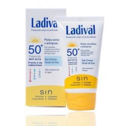 Ladival Gel Crema Fotoprotector SPF50 Piel Sensible 50 ml