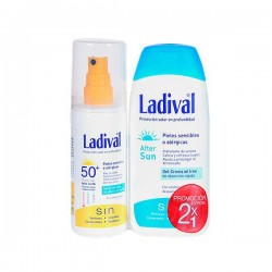 Ladival Duplo Spray Protector Solar SPF50 150 ml + After Sun 200 ml