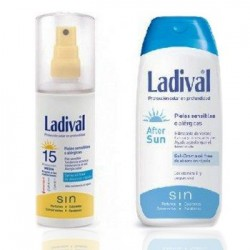 Ladival Duplo Spray Protector Solar SPF15 150 ml + After Sun 200 ml