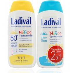 Ladival Duplo Fotoprotector SPF50 Niños 200 ml + Aftersun Niños 200 ml