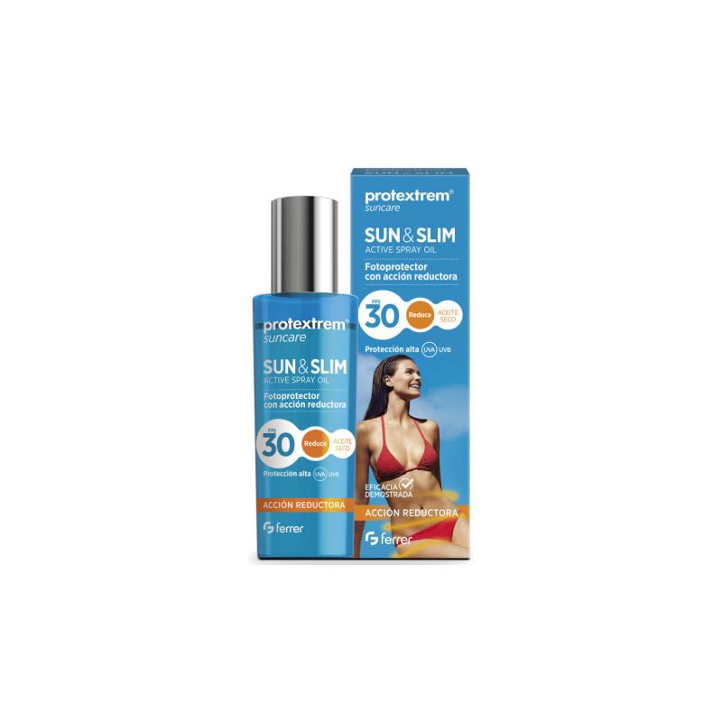Protextrem Suncare F30 Sun&Slim Aceite Seco Spray 200 ml