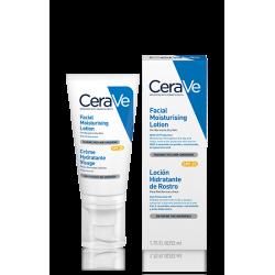 CeraVe Locion Hidratante Rostro SPF25 Piel Normal a Seca 52 ml