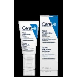 CeraVe Locion Hidratante Rostro Piel Normal a Seca 52 ml
