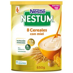 Nestum Papilla 8 Cereales con Mie 650 g