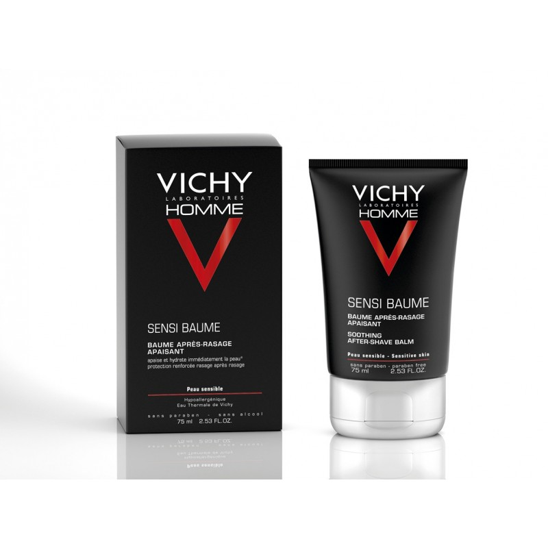VICHY HOMME Sensi Baume After-shave Calmante 75 ml