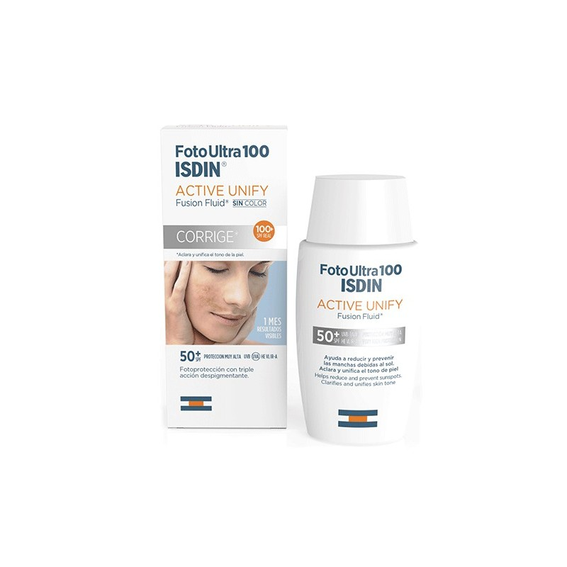 Isdin Fotoultra Active Unify Fusion Fluid spf 100+ 50 ml