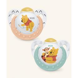 Nuk Chupete Trendline de Latex Winnie The Pooh 6-18m