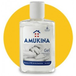 Amukina Antiseptica Gel Manos Sin Agua 80 ml