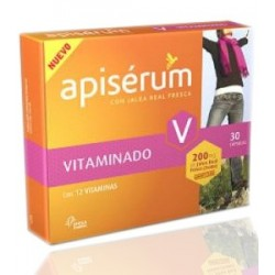 Apiserum Vitaminado 200mg 30 Capsulas