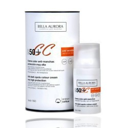 Bella Aurora Crema Color Anti-Manchas SPF50+ Piel Sensible 30 ml