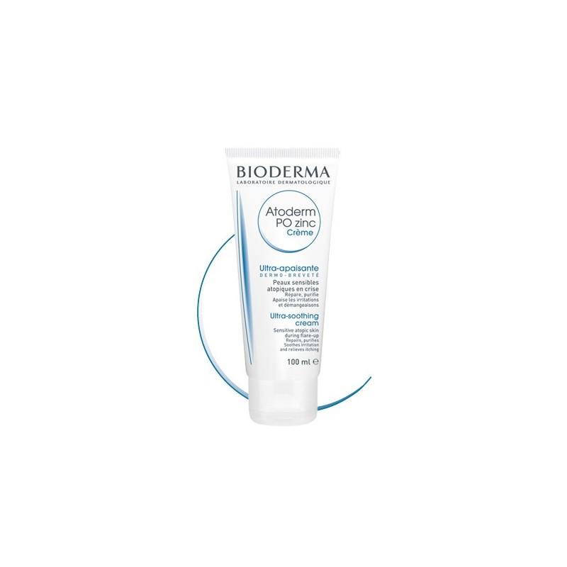 BIODERMA Atoderm Po Zinc  Crema tratamiento para brotes Tubo 100 ml