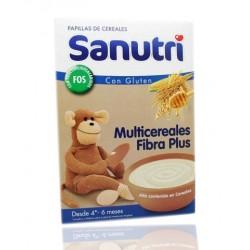 Sanutri Papilla Multicereales Fibra Plus 600 g